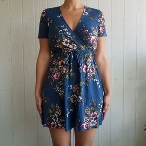 NWT Blue Floral Dress